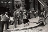 Amerikkalaistyttö Italiassa, 1951 Taide tekijänä Ruth Orkin