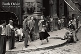 Chica americana en Italia, 1951 Reproducción por Ruth Orkin