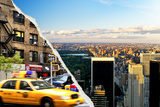 Dual Torn Posters Series - New York City Photographic Print by Philippe Hugonnard