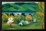 Lake George, Early Moonrise Spring, 1930 Posters by Georgia O'Keeffe