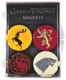 Game of Thones - House Sigil Magnet Set of 4 Magnet Set
