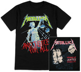 Metallica- Justice T-shirts