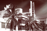 Instants of Series - Art Deco Architecture of Miami Beach - The Esplendor Hotel Breakwater Photographic Print by Philippe Hugonnard