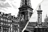 Dual Torn Posters Series - Paris - France Photographic Print by Philippe Hugonnard
