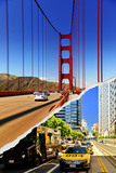 Dual Torn Posters Series - San Francisco Photographic Print by Philippe Hugonnard
