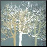 Tranquil Trees Mounted Print by Erin Clark