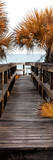 Boardwalk on the Sea Photographic Print by Philippe Hugonnard