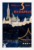 Budapest Framed Giclee Print by Polya Tibor