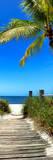 Boardwalk on the Beach - Florida Photographic Print by Philippe Hugonnard