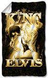Elvis - The King Fleece Blanket Fleece Blanket