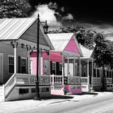 Key West Architecture - The Pink House - Florida Photographic Print by Philippe Hugonnard