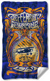 Jefferson Airplane - Monterey Pop Fleece Blanket Fleece Blanket
