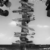 Destination Signs - Key West - Florida Photographic Print by Philippe Hugonnard