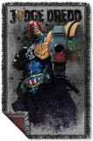 Judge Dredd - Last Words Woven Throw Throw Blanket