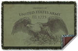 Army - Property Woven Throw Throw Blanket