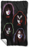 KISS - Solo Heads Fleece Blanket Fleece Blanket