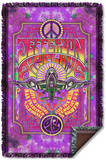 Jefferson Airplane - Take Off Woven Throw Throw Blanket