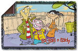 Ed Edd N Eddy - Backyard Boys Woven Throw Throw Blanket
