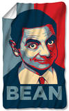 Mr Bean - Poster Fleece Blanket Fleece Blanket