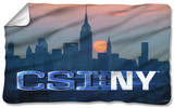CSI:New York - City Logo Fleece Blanket Fleece Blanket