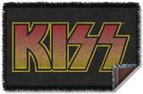 KISS - Classic Logo Woven Throw Throw Blanket