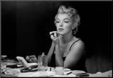 Marilyn Monroe, Entre bastidores Lámina montada en tabla por Sam Shaw