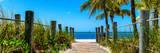 Boardwalk on the Beach - Key West - Florida Fotodruck von Philippe Hugonnard