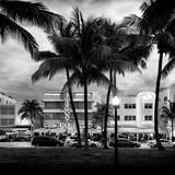 Art Deco Architecture of Ocean Drive - Miami Beach - Florida Photographic Print by Philippe Hugonnard