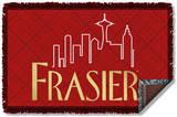 Frasier - Logo Woven Throw Throw Blanket