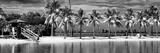 Paradisiacal Beach overlooking Downtown Miami - Florida Fotografie-Druck von Philippe Hugonnard