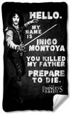 Princess Bride - Hello Again Fleece Blanket Fleece Blanket