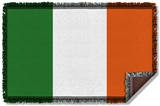 Irish Flag Woven Throw Throw Blanket