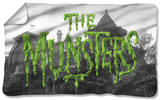 Munsters - Logo Fleece Blanket Fleece Blanket