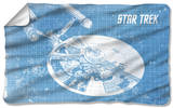 Star Trek - Enterprise Blueprint Fleece Blanket Fleece Blanket