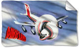 Airplane - Poster Fleece Blanket Fleece Blanket