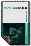 John Coltrane - Soul Trane Woven Throw Throw Blanket