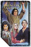 Princess Bride - Alt Poster Woven Throw Throw Blanket