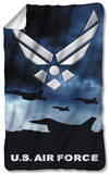 Air Force - Take Off Fleece Blanket Fleece Blanket