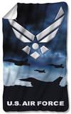 Air Force - Take Off Fleece Blanket Fleece Blanket