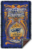 Jefferson Airplane - Monterey Pop Woven Throw Throw Blanket
