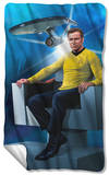 Star Trek - Captains Chair Fleece Blanket Fleece Blanket