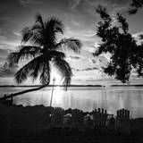 Four Chairs at Sunset - Florida Photographic Print by Philippe Hugonnard