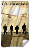 Air Force - Long Walk Fleece Blanket Fleece Blanket