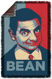 Mr Bean - Poster Woven Throw Throw Blanket