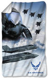 Air Force - Pilot Fleece Blanket Fleece Blanket