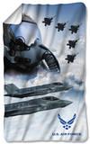 Air Force - Pilot Fleece Blanket Fleece Blanket