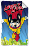 Mighty Mouse - City Watch Fleece Blanket Fleece Blanket