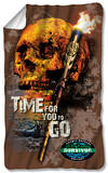 Survivor - Time To Go Fleece Blanket Fleece Blanket