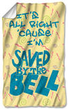 Saved By The Bell - All Right Fleece Blanket Fleece Blanket
