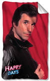 Happy Days - Red Fonz Fleece Blanket Fleece Blanket